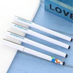 白色中性笔 广告签字笔促销签字笔展会礼品活动礼品会议礼品定制