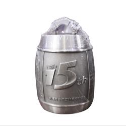 15周年纪念纯锡茶叶罐高档商务礼品周年庆典礼品定制送客户礼品