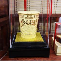 绒沙金模型工艺摆件定制周年庆典礼品企业上市 礼品定制LOGO