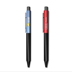 现代主义时尚金属中性签字笔定制企业LOGO按动签字笔企业商务礼品定制会议礼品福利礼品定制L