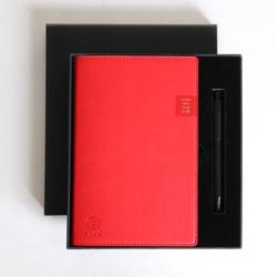 中国银行笔记本签字笔两件套 商务办公礼品送客户员工福利礼品定制LOGO天津礼品公司
