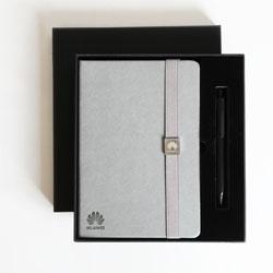 华为笔记本 签字笔两件磁商务礼品办公套装定制 企业礼品定制礼品定做客户拜访礼品定制