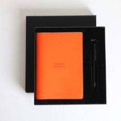中国平安商务笔记本签字笔两件定制企业商务礼品定制文化定制LOGO