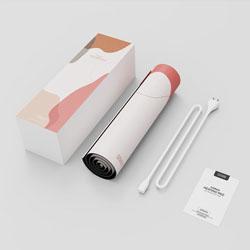 向物加热鼠标垫办公室暖桌垫桌面保暖创意时尚礼品定制员工福利会员积分商务礼品定制LOGO