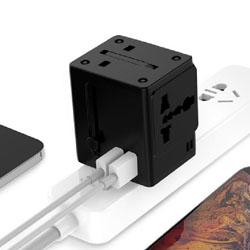 全球通旅行充电器展会礼品促销礼品商务礼品会议伴手礼品定制LOGO