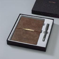 时尚笔记本签字笔两件套 商务礼品套装客户礼品办公礼品文化礼品定制LOGO